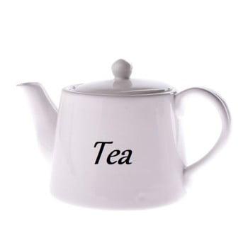 Ceainic din ceramică Dakls, 1000 ml, alb imagine