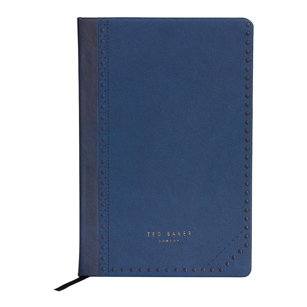 Modrý zápisník Ted Baker Brogue Monkian, 192stránek