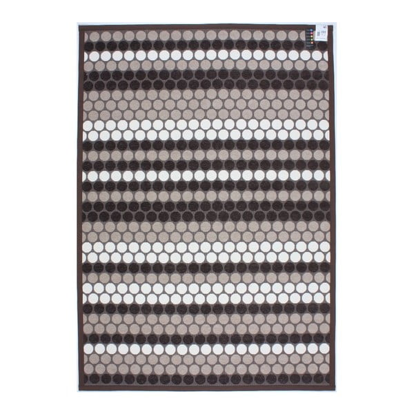 Koberec NW Stripes Brown, 80x150 cm