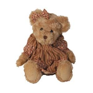 Plyšový medvěd v šatičkách AnticLine, 38cm