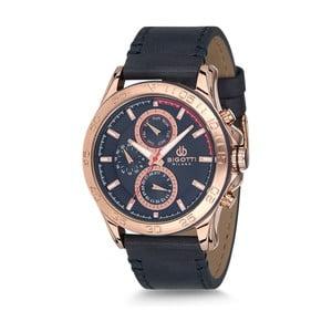 Pánské hodinky s koženým řemínkem Bigotti Milano Dandy