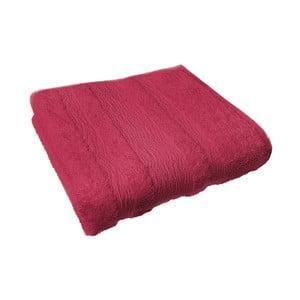 Osuška Ziczac 50x100 cm, červená