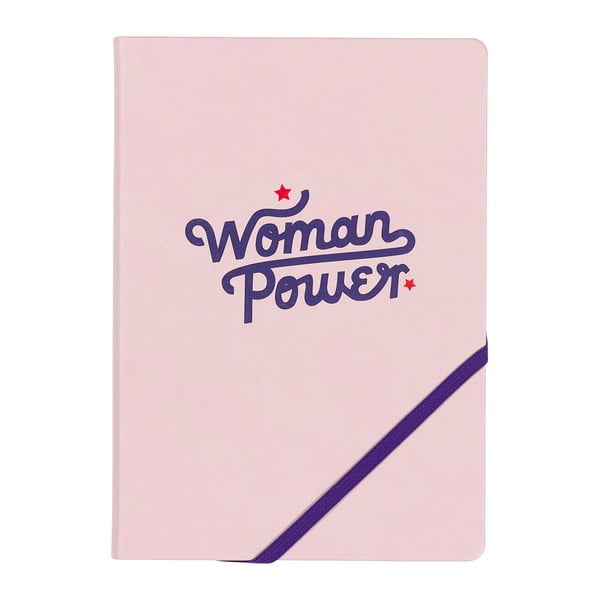 Caiet A5 Yes studio Woman Power, 192 file