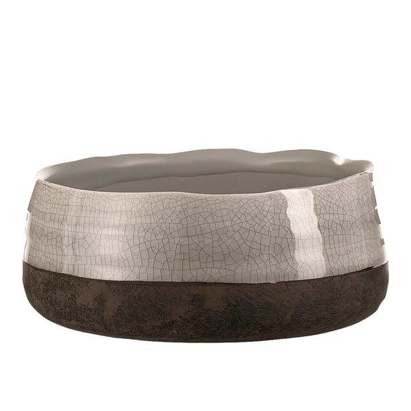 Ghiveci decorativ din ceramică A Simple Mess Mos, ⌀ 15 cm, bej