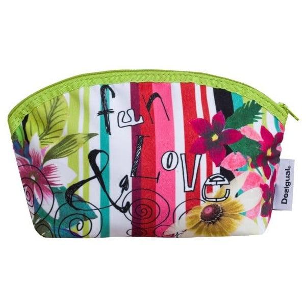 Kosmetická taška DESIGUAL Jungle Verde