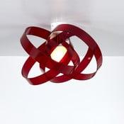 Stropní svítidlo Nuvola Emporium, červené