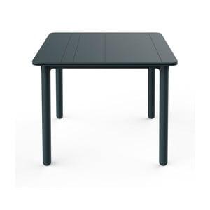 Tmavě šedý zahradní stůl Resol NOA, 90x90cm