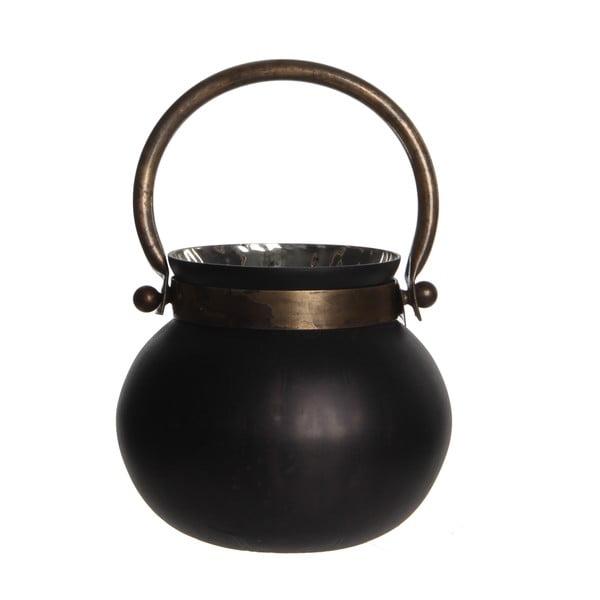 Stojan na svíčku Kito Black Mat, 13 cm