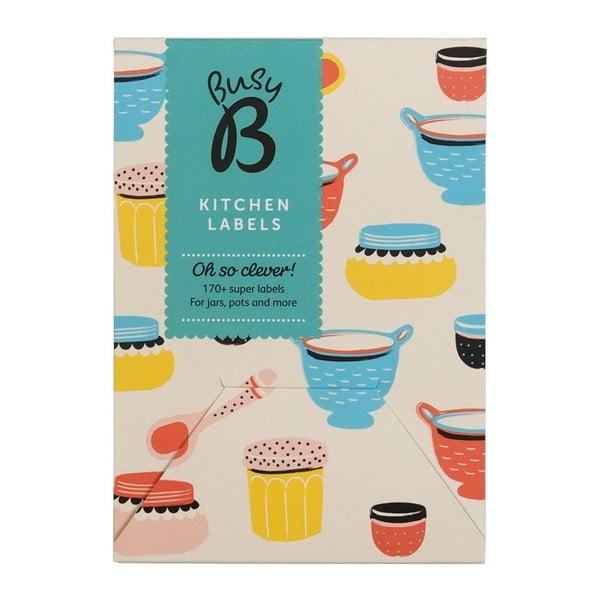 Sada samolepek Kitchen Oh So Clever Cream