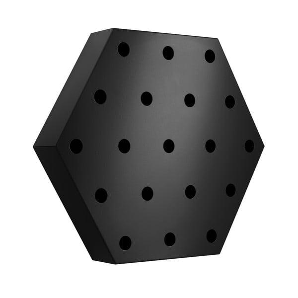 Stojan na víno Hexagon Maxi, černý