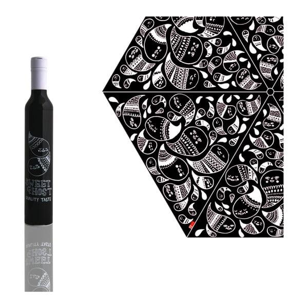 Skládací deštník Gemma Correl, černý