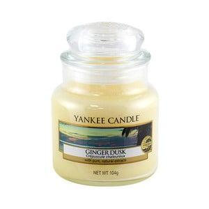 Vonná svíčka Yankee Candle Zázvorový Soumrak, doba hoření 25 - 40 hodin
