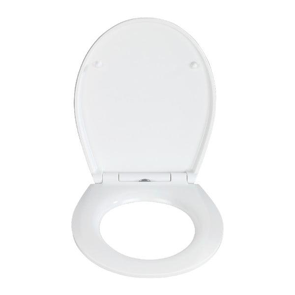 WC sedátko se snadným zavíráním Wenko Easy Mediaster, 44,5 x 37 cm