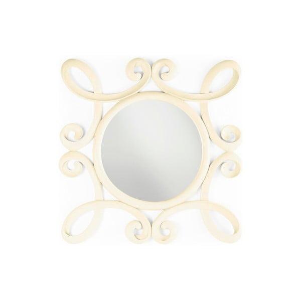 Zrcadlo New White, 100x100 cm