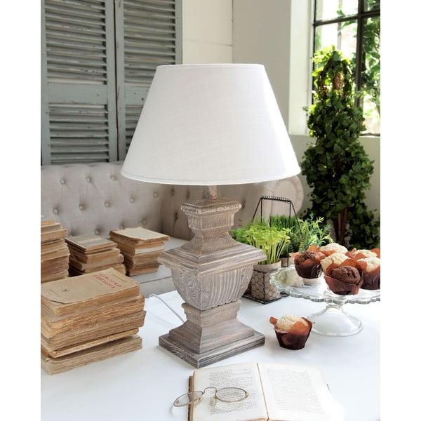 Stolní lampa Natural Sand, 57 cm