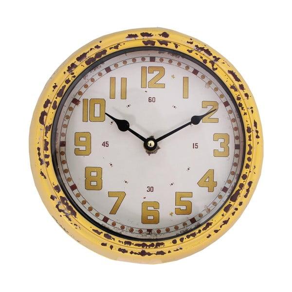 Pendule sárga falióra - Antic Line