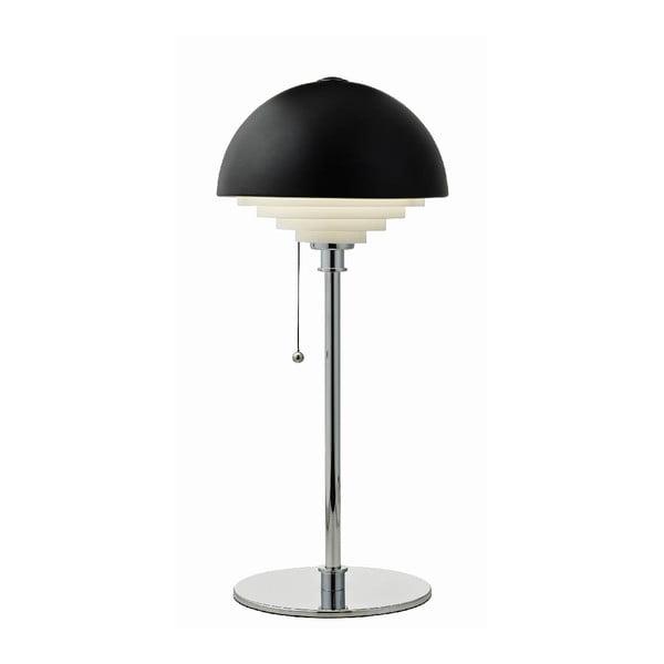 Černá stolní lampa Herstal Motown