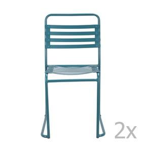 Sada 2 modrých židlí Red Cartel Park