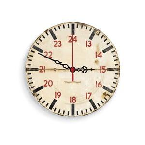 Nástěnné hodiny Faded, 30 cm