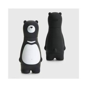 Černá sada šroubováků s vyměnitelnými nástavci Gift Republic Bear