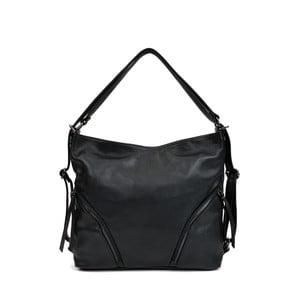 Černá kožená kabelka Isabella Rhea Giuseppe