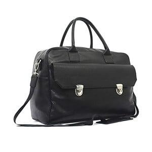 Cestovní taška Bobby Black - černá, 45x33 cm