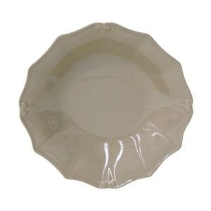 Šedohnědý kameninový talíř na polévku Casafina Vintage Port, ⌀24cm