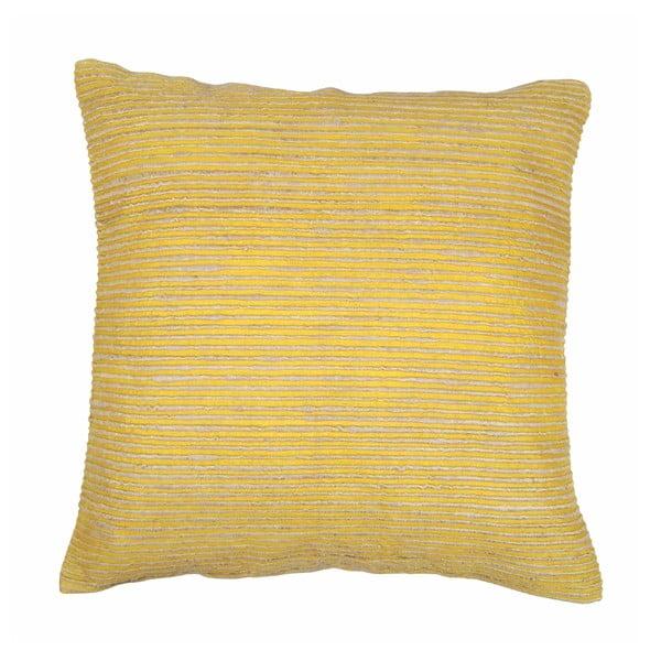 Rimboo sárga párnahuzat, 45 x 45 cm - Tiseco Home Studio
