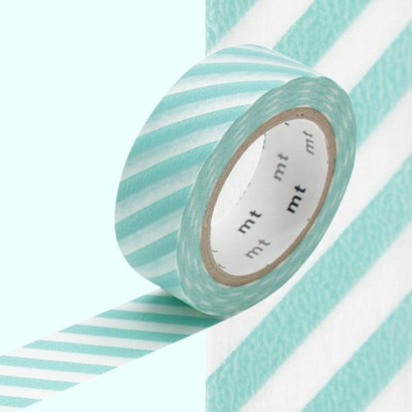 Washi páska Stripe Mint