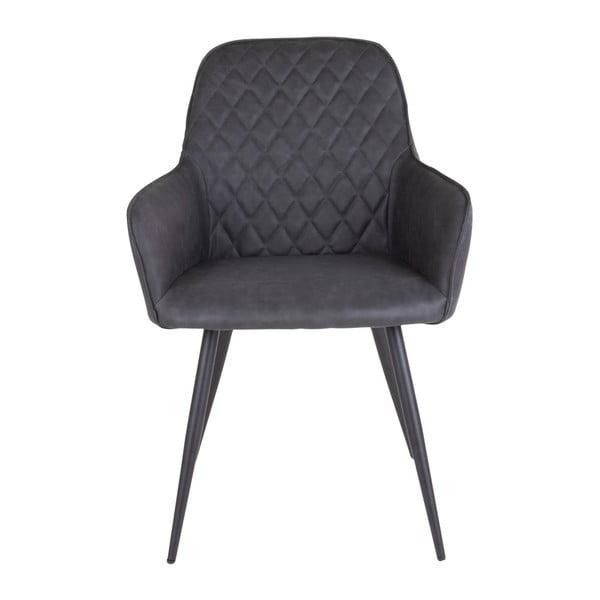 Zestaw 2 ciemnoszarych krzeseł House Nordic Harbo