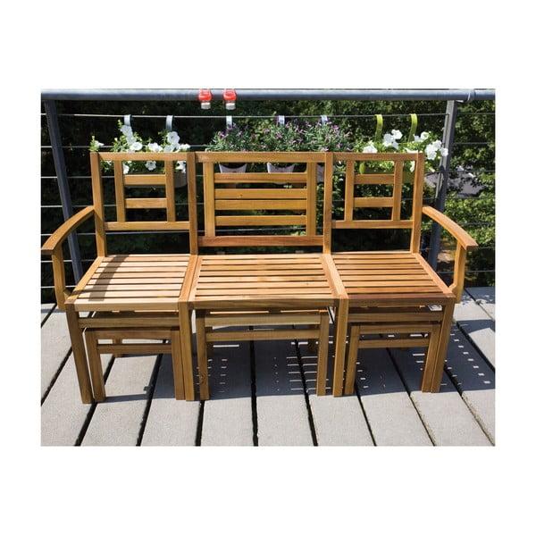 Sestava dřevěného nábytku Chat