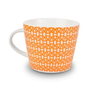 Hrnek MAKE International Lace Orange, 350 ml