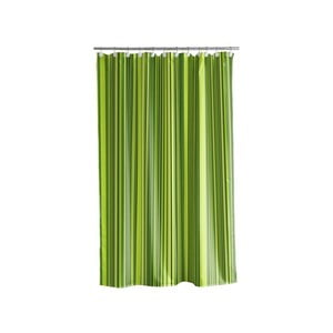 Sprchový závěs Ultimate stripe grey, 180x200 cm