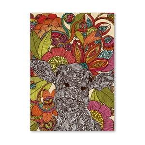 Autorský plakát Arabella and the Flowers od Valentiny Ramos