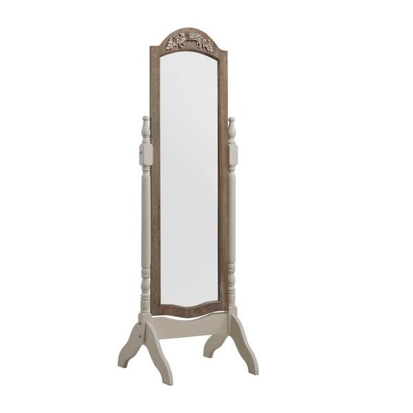 Bílé stojací zrcadlo Geese Vintage