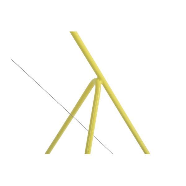 Žlutá stojící lampa z kovu HARTÔ Elisabeth