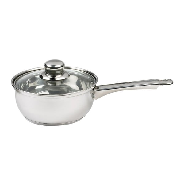 Essential Saucepan tejeslábas fedővel, 16 cm - Sabichi