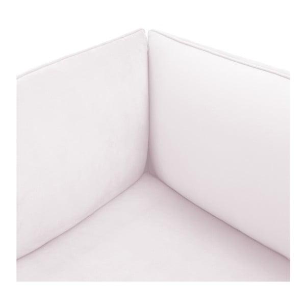 Světle fialová třímístná modulová pohovka Vivonita Velvet Cube