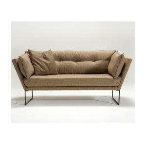Canapea cu 3 locuri Relax, nisipiu