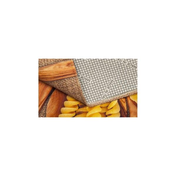 Vysoce odolný kuchyňský koberec Webtappeti Pasta, 60x220 cm