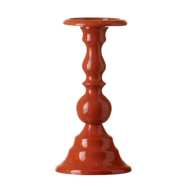 Stojan na svíčku Chunky Orange, 24 cm