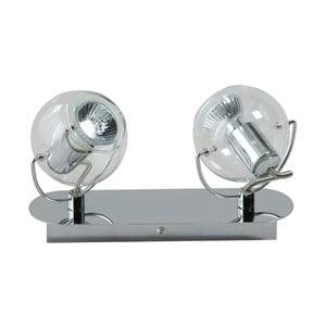 Stropní svítidlo ETH Vetro Silver Duo