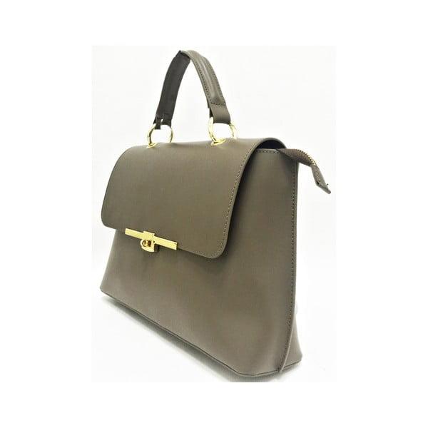 Kožená kabelka Lilu Taupe