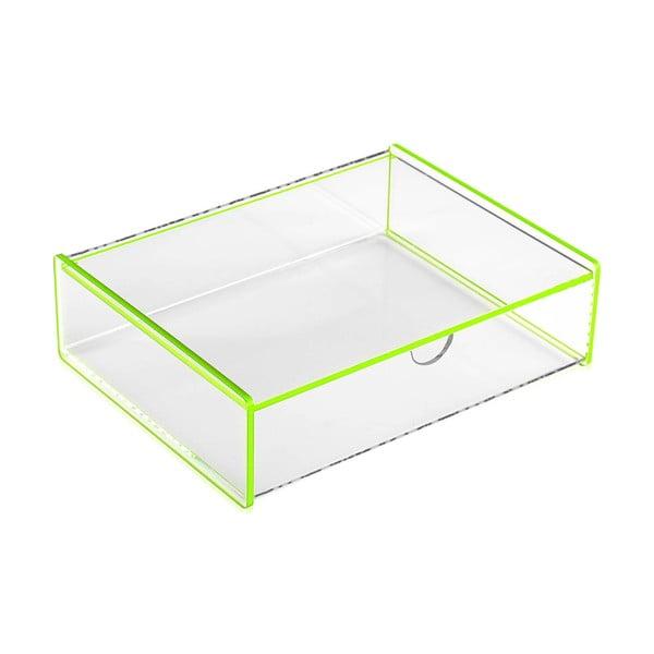 Ariel zöld tárolódoboz, 17,1 x 13 x 4,8cm - Versa
