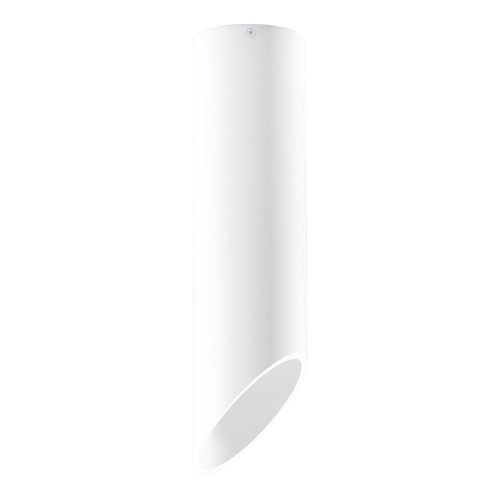 Bílé stropní světlo Nice Lamps Nixon, délka40cm