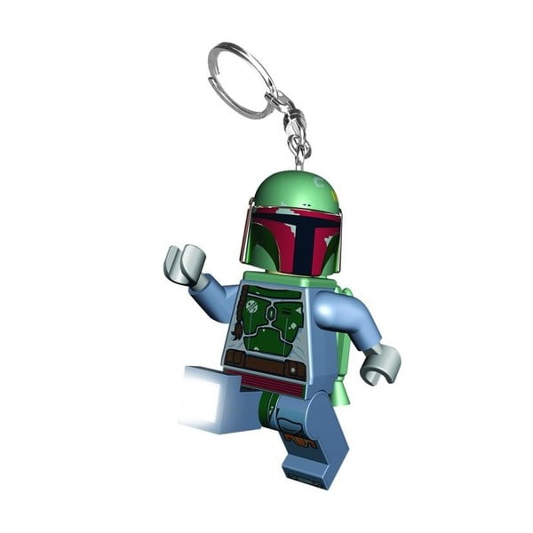 Svítící klíčenka LEGO® Star Wars Boba Fett