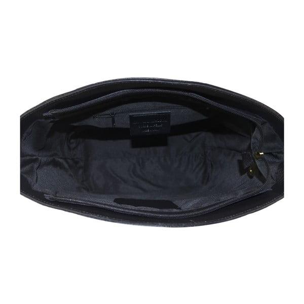 Kožená kabelka Sally, černá