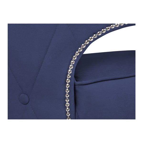 Modré křeslo BSL Concept Canvas
