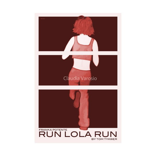 Plakát Run Lola Run (Lola běží o život)