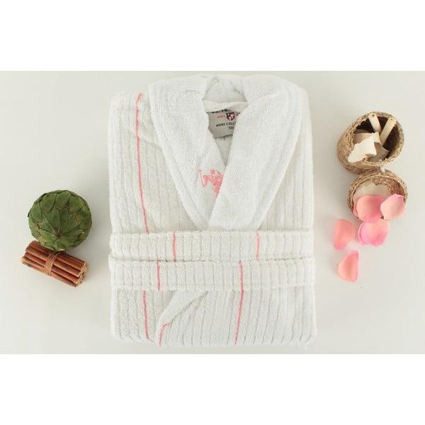 Halat de baie de damă, roz, U.S. Polo Assn. Casper, măr. M/L